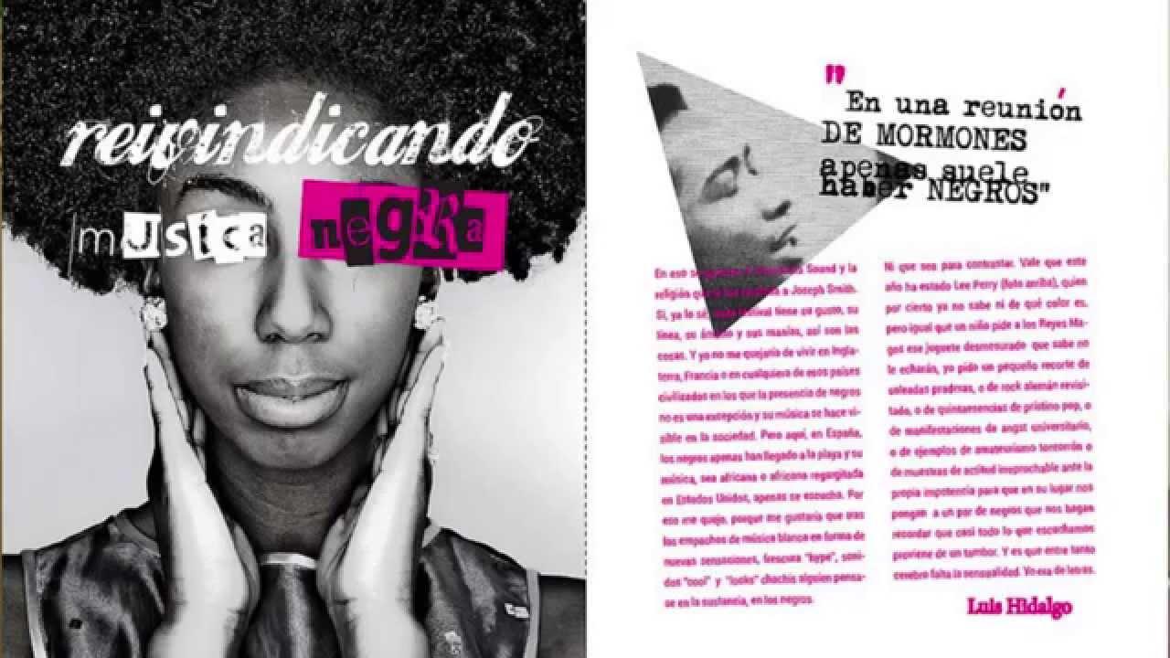 Diseño editorial/publicaciones - Magazine cover