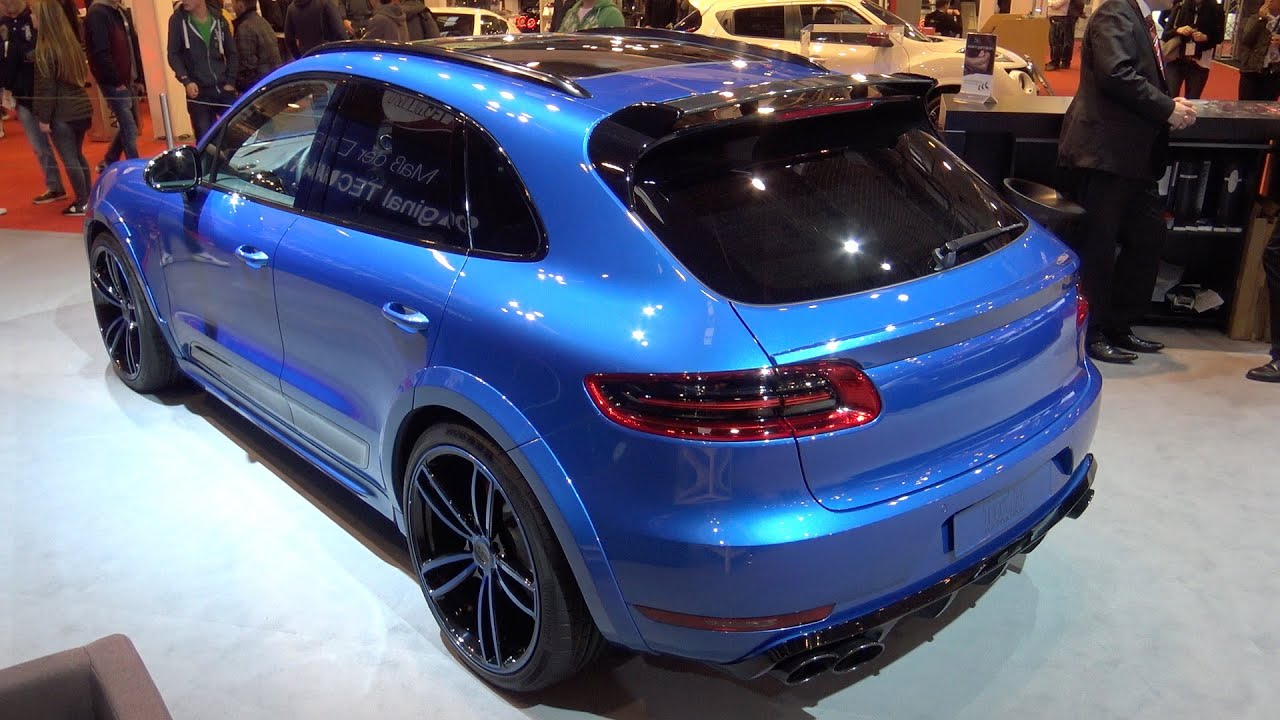 techart porsche macan s essen motorshow 2015 youtube. Black Bedroom Furniture Sets. Home Design Ideas