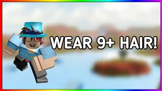 HOW TO WEAR 9+ HAIR ON ROBLOX *Mobile/Tablet