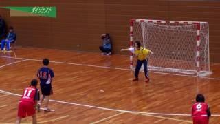 H26年 第23回JOCハンドボール大会愛知VS岩手(ダイジェスト)(女子予選リーグ)