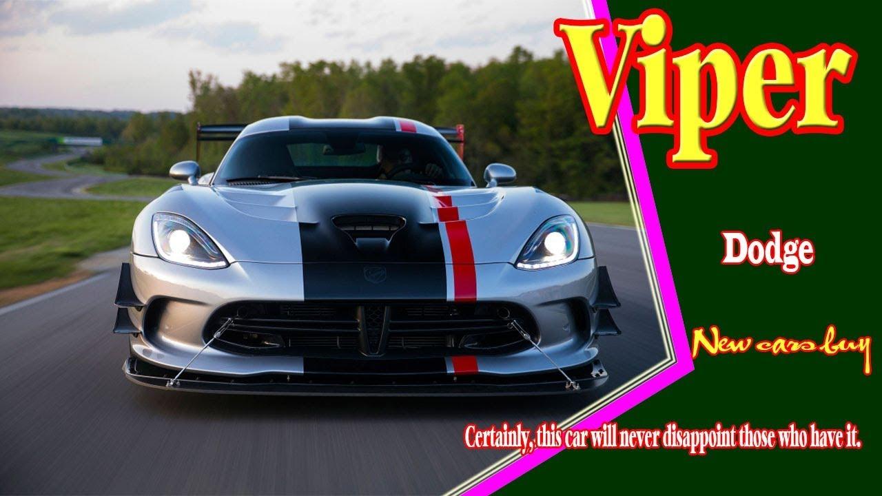 2020 Dodge Viper 2020 Dodge Viper Acr 2020 Dodge Viper Concept