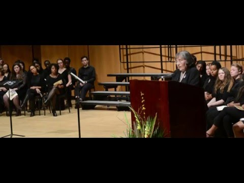Civil Rights Activist Diane Nash addresses Northwestern