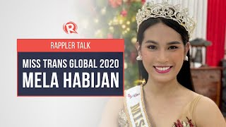 Rappler Talk: Beauty and acceptance with Miss Trans Global 2020 Mela Habijan