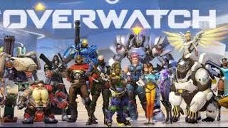 Overwatch Walkthrough Multiplayer/PvP Gameplay Part 1 - All Characters (Xbox One/PS4)