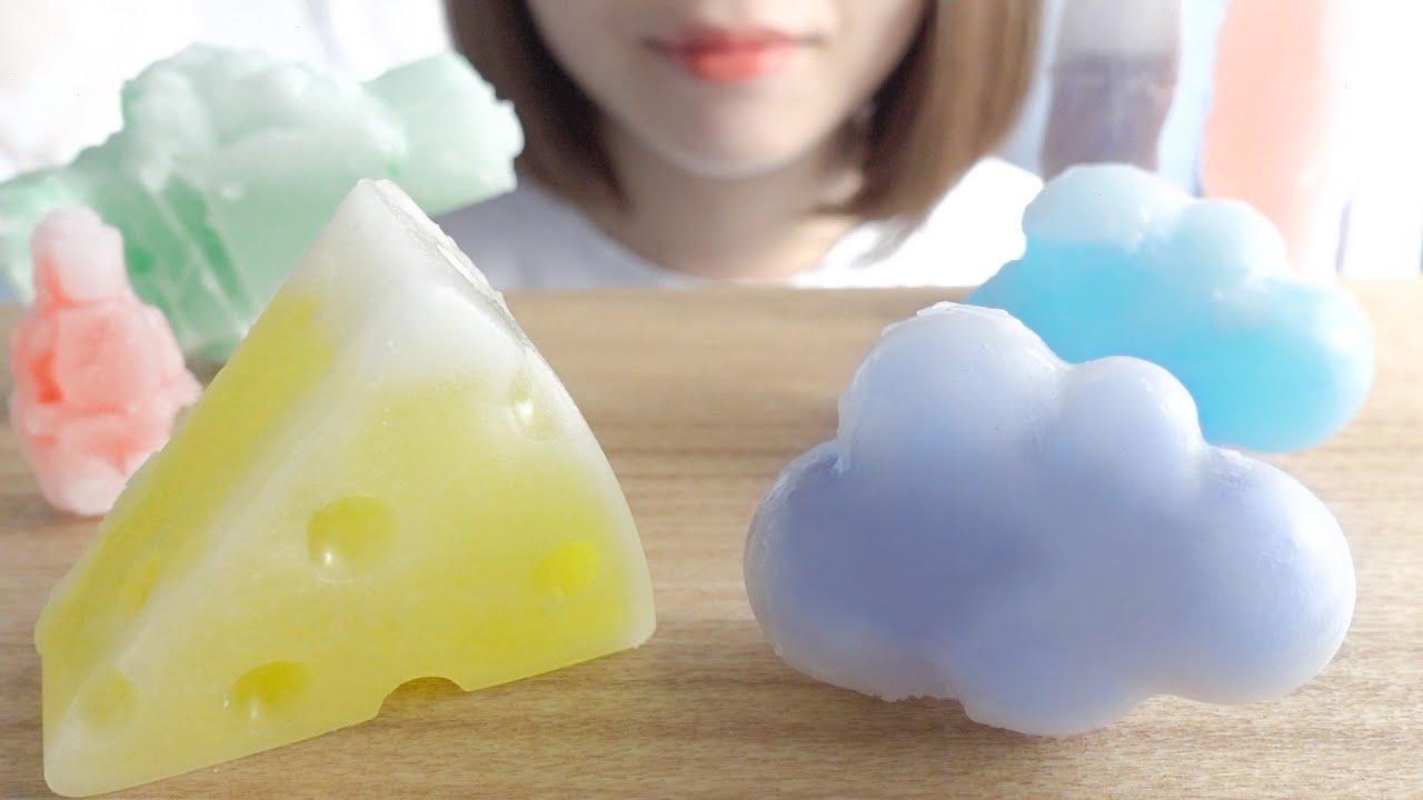 【咀嚼音】ワックスボトルキャンディを作って食べる【ASMR】MAKE WAX BOTTLES CANDY