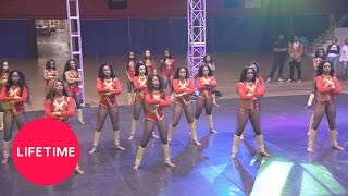 Watch the Dancing Dolls perform against the Heat Dance Line from Se...