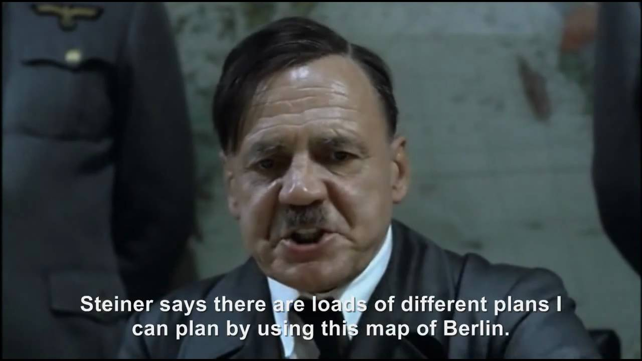 Hitler plans to plan another plan