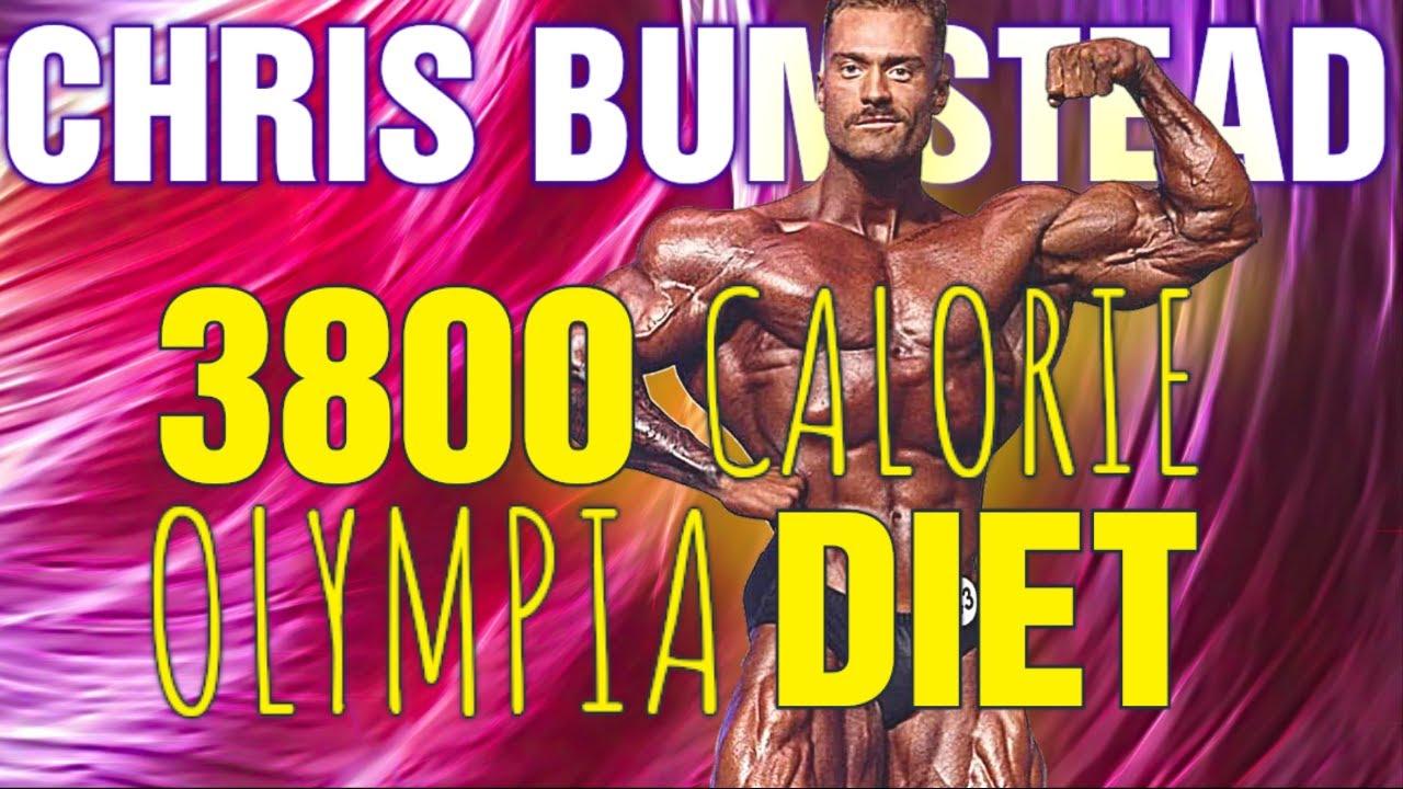 Chris Bumstead || CBUM's Mr. Olympia 3800 Calorie DIET