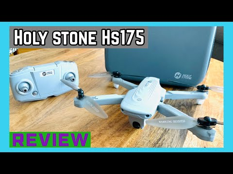 Holy stone Hs175 drone (review)