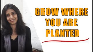PAYAL NANJIANI | GROW WHERE YOU ARE PLANTED