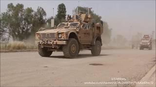 解放されたモスル イラク治安部隊 アメリカ軍第二旅団戦闘チーム第82空挺部隊・が助言