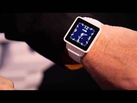 BURG Smartwatch Phone (CES 2014)
