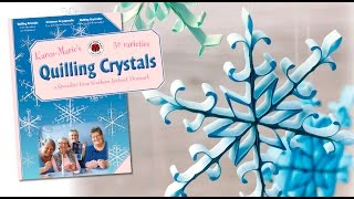 Quilling Crystals // GERMAN, ENGLISH