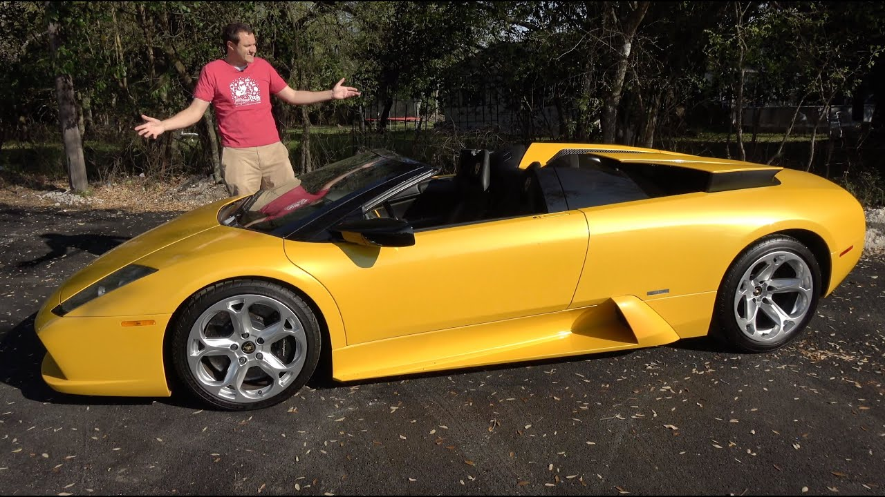 The Lamborghini Murcielago Roadster Is The Last Old School Lambo