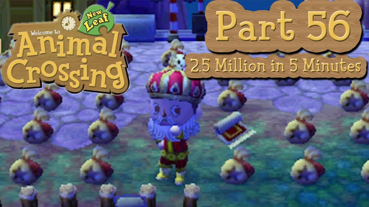 Animal crossing new leaf part 56 get rich quick 2 5 for Animal crossing new leaf arredamento