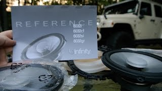 "Infinity REFERENCE 6032SI 6-1/2"" Two-Way Shallow Mount 2 Ohm Loudspeaker Unboxing  REF6032SI"