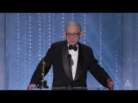 Frederick Wiseman receives an Honorary Award at the 2016 Governors Awards