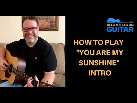 how-to-play-you-are-my-sunshine-intro-johnny-cash