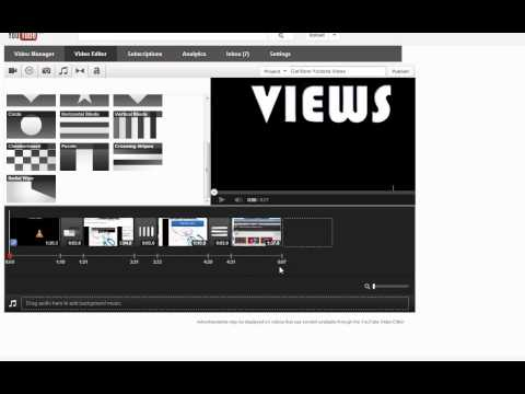 How to Use Video Editor Youtube