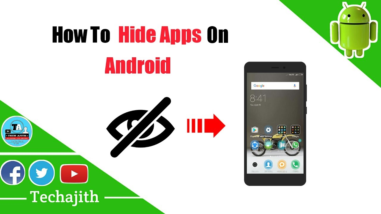 How to Hide Android apps without root | No Jailbreak