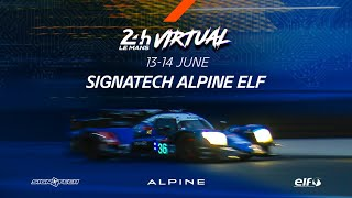 Alpine // Interview Philippe Sinault, 24h of Le Mans Virtual