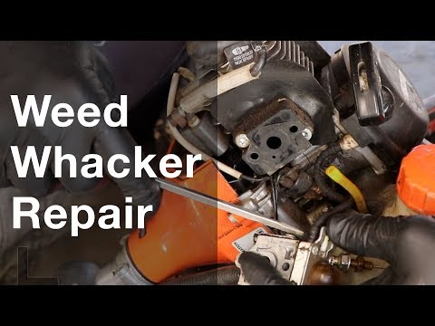 How to Repair or Service a Weed Whacker - Echo SRM 225 and 230