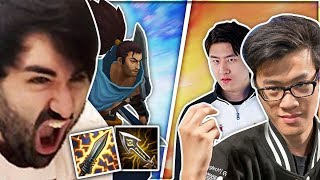 Can My Yasuo Beat Two God Tier LCS Players!? 🤔 | Voyboy