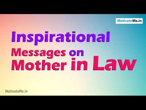 10 Motivational Whatsapp Messages On Mother In Law Youtube