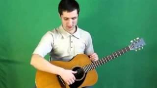 Игра боем, полубоем, перебором на гитаре