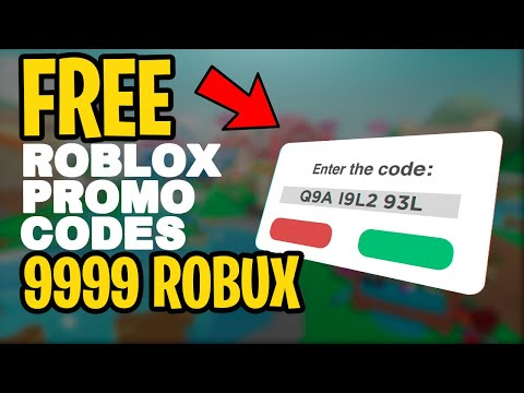 INSANE Roblox  Promo Codes that give 9999 FREE ROBUX! *EXPOSED* (MARCH 2021 WORKING) thumbnail