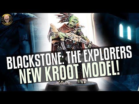 Blackstone Fortress: The Explorers - New KROOT model!