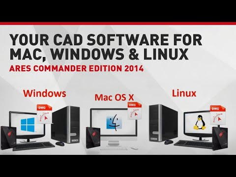 Your CAD Software for Mac, Windows & Linux | Ares Commander Edition 2014