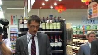 Inauguration Simply Market Mutzig par le Cabinet JCS Immobilier le 14 sept 2010