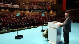 Başbakan Yıldırım, İstanbul İl Başkanlığı Genişletilmiş Danışma Meclisi toplantısında konuştu