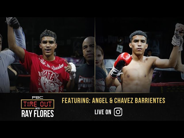 Skilled Twin Prospects Chavez & Angel Barrientes Have Big Plans in Boxing | Time Out with Ray Flores