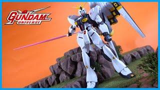 Bandai Tamashii Nations Gundam Universe CHAR'S COUNTERATTACK NU GUNDAM Action Figure Review