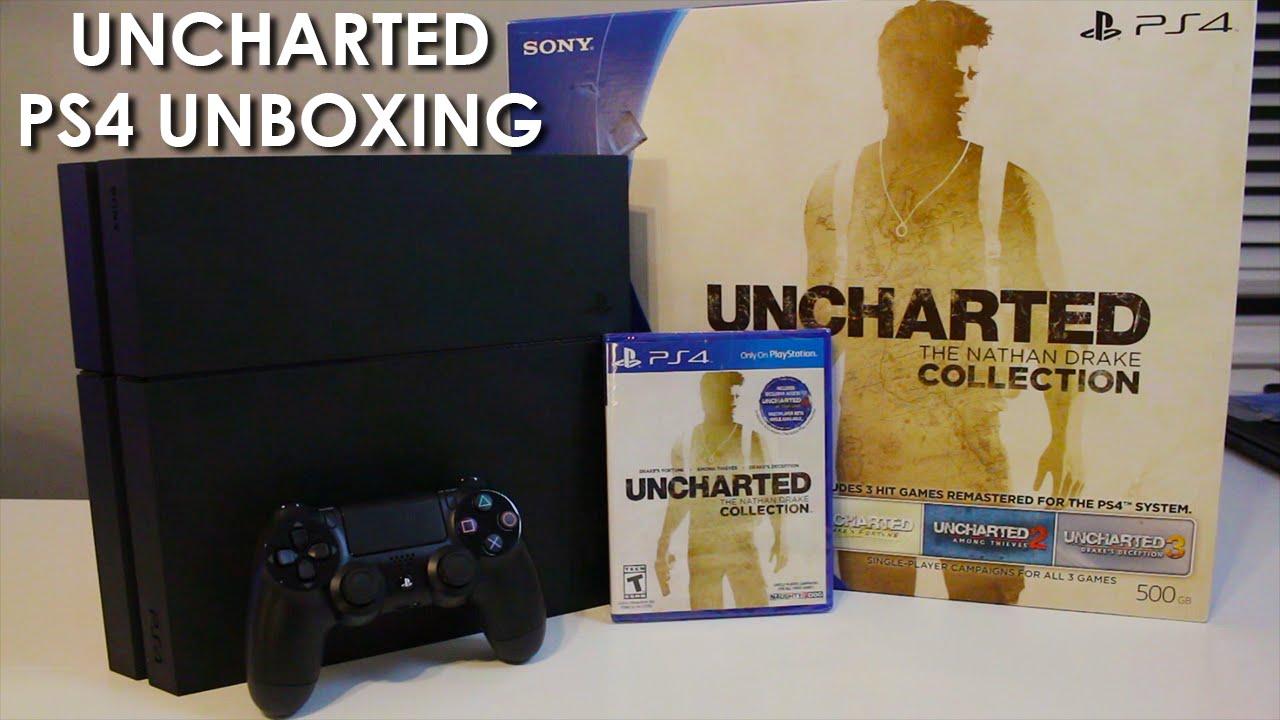 Ps4 Uncharted Bundle 60 Second Unboxing