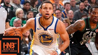 Golden State Warriors vs Milwaukee Bucks Full Game Highlights | 12.07.2018, NBA Season Video