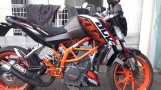 KTM390DUKE参考動画:どんな性格のバイクなのか?