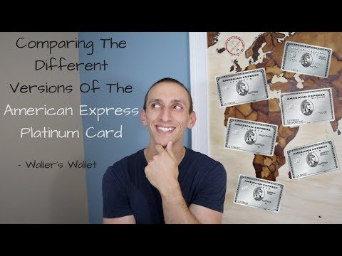 Comparing The Different Versions Of The American Express Platinum Card | Waller's Wallet