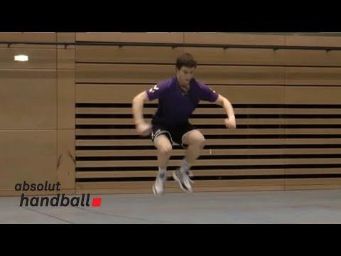 Handballübungen