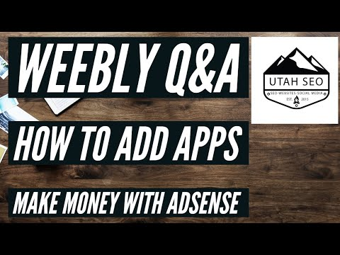 Weebly: How Does AdSense Work And How To Add Third-Party Ads To Weebly