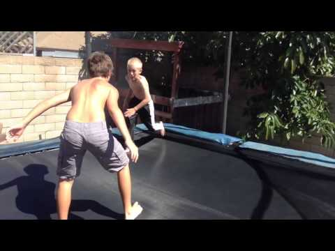 WWE Tag Team Match Trampoline