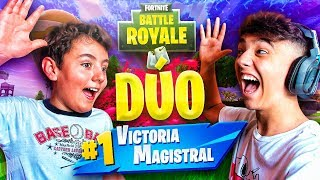 MI HERMANO Y YO VOLVEMOS a FORTNITE: Battle Royale!! - Agustin51