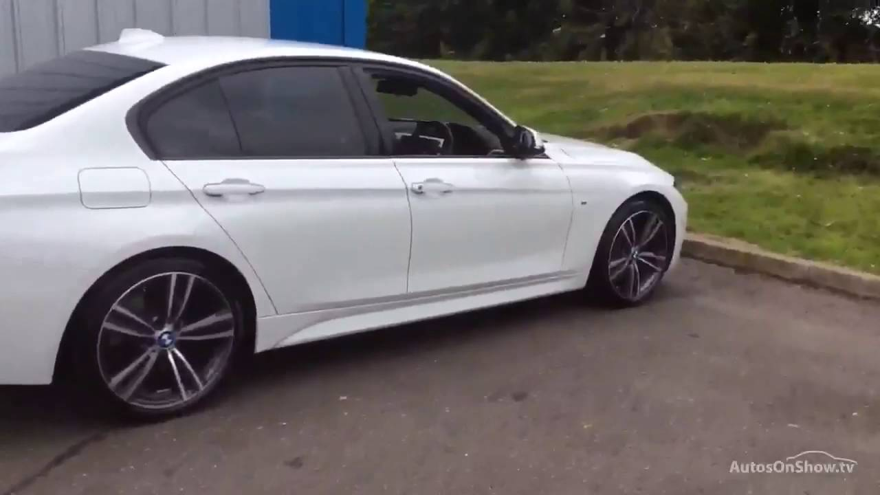 Bmw 3 Series 320d M Sport White 2015 Youtube