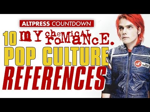 My Chemical Romance: Top Ten Essential Pop Culture References