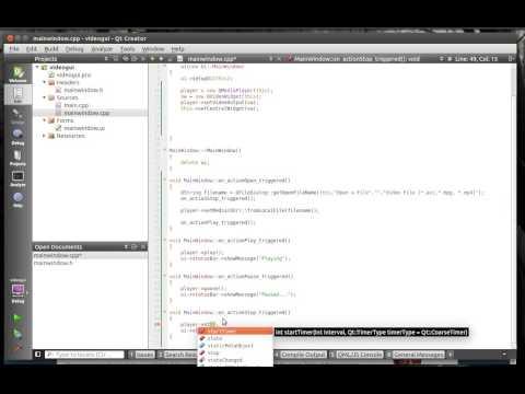 C++ Qt 131 - Media Player GUI