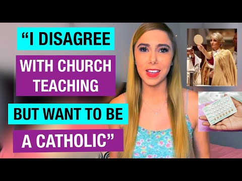 Disagreeing with Catholic teaching, but wanting to convert into Catholicism. WHAT TO DO!