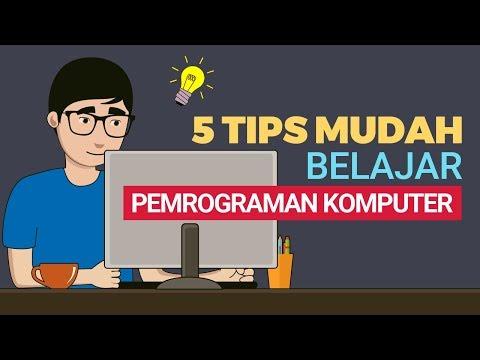 5 Tips Mudah Belajar Pemrograman Komputer Untuk Pemula