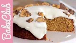 Fluffernutter Cake (erdnussbutter-marshmallow-kuchen) | Bakemyday